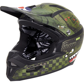 O'Neal Fury RL Casque, warhawk black/green